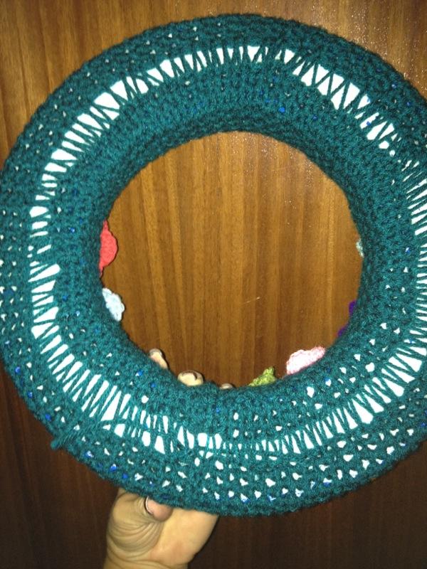 Corona de Rosas - Paso a Paso - Patrón Gratis - Crochet (3/4)