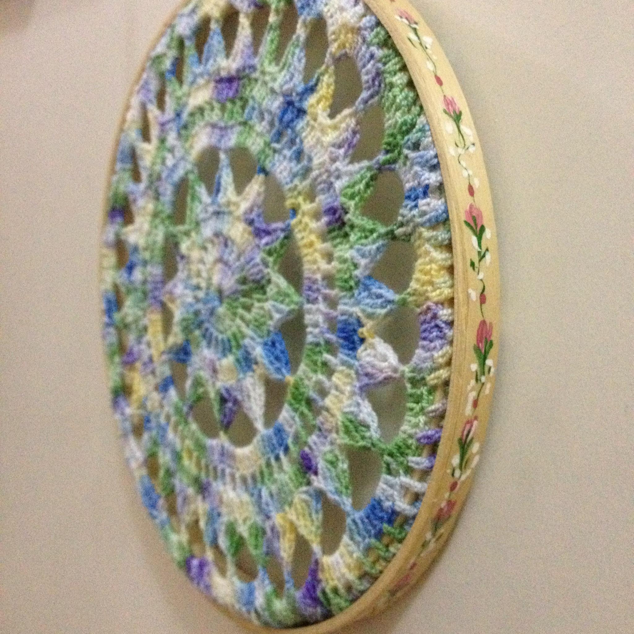 Crochet Patterns Dreamcatchers : atrapa sue?os crochet 1 dream catcher 2