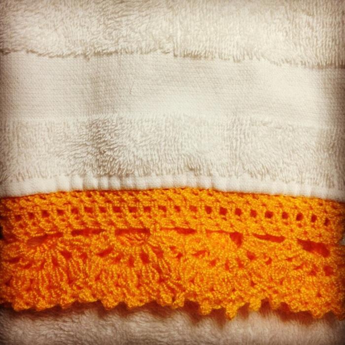 Hermosa Patrón De Crochet Libre Toallita Ilustración - Coser Ideas ...