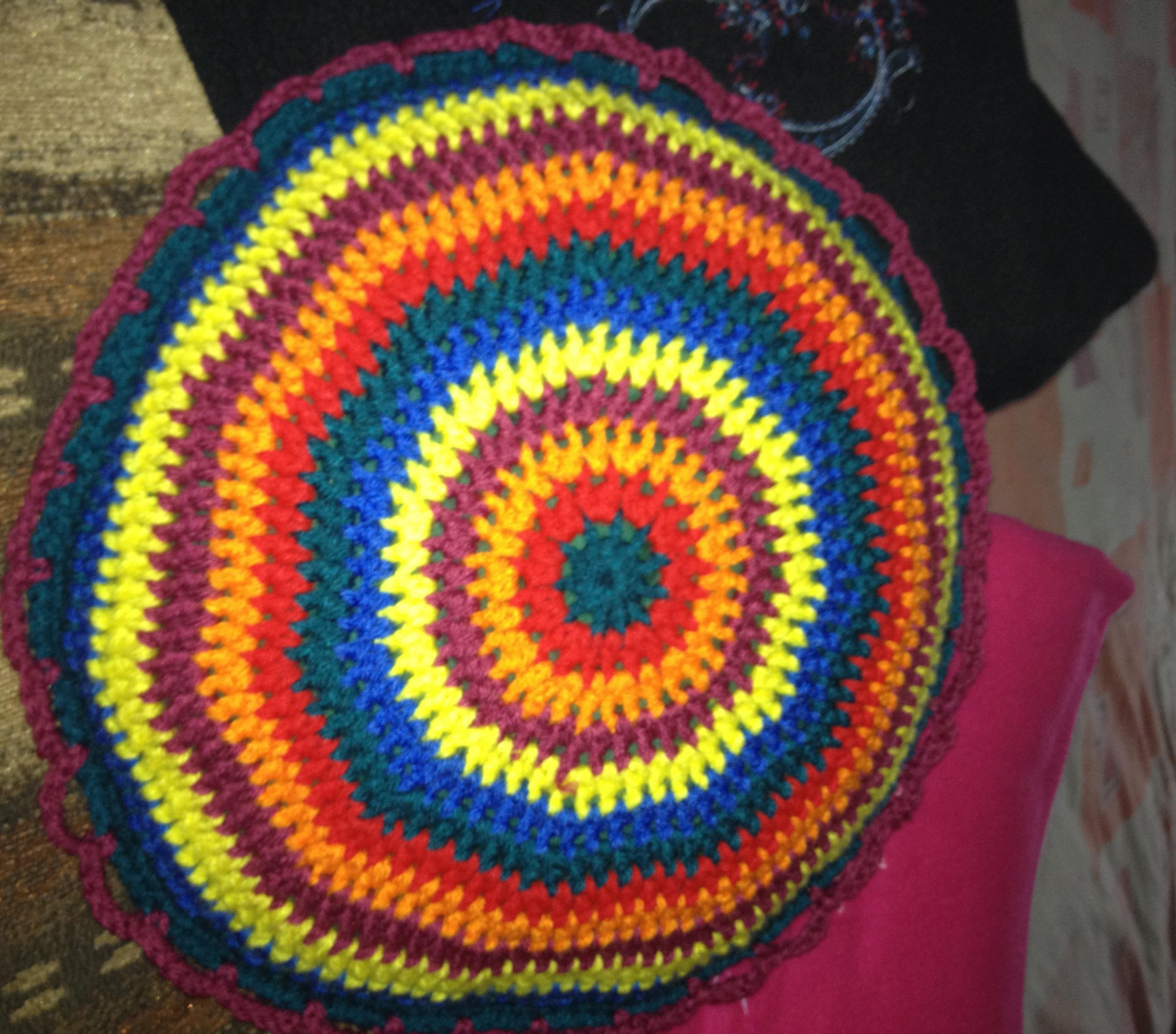 Octubre 2012 hecho a mano por maricruz pacheco barrios - Cojin de crochet ...