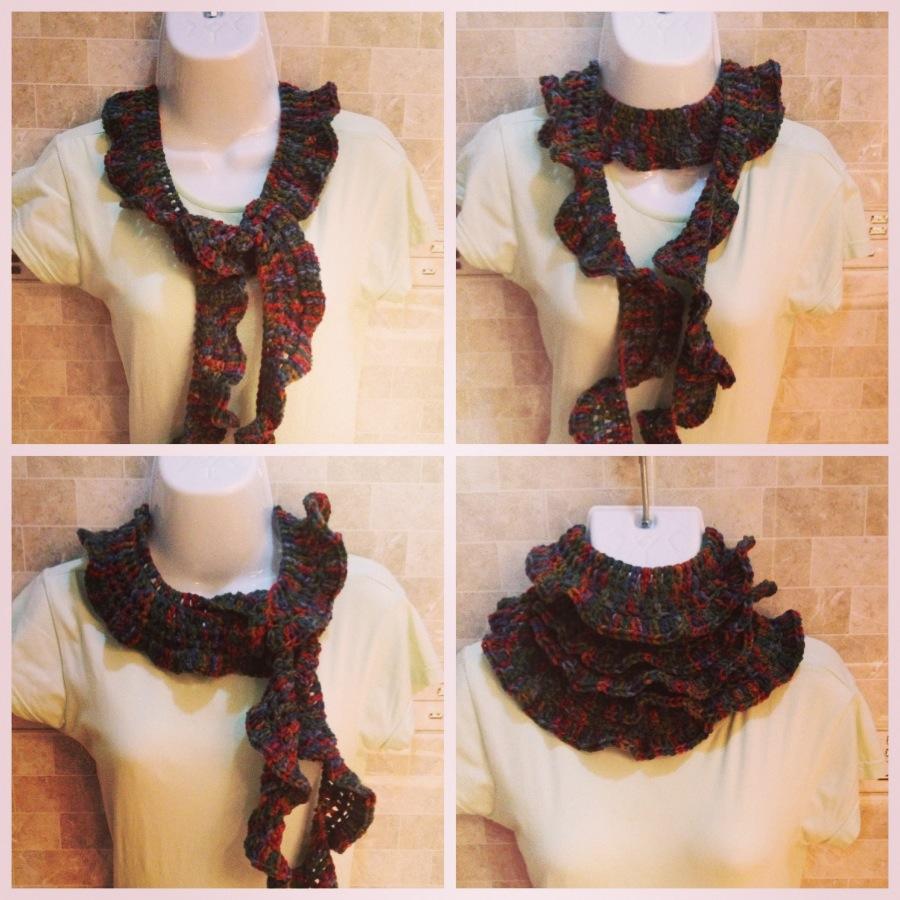 Bufandas. Scarves. Grafico gratis. Free chart. Crochet (6/6)