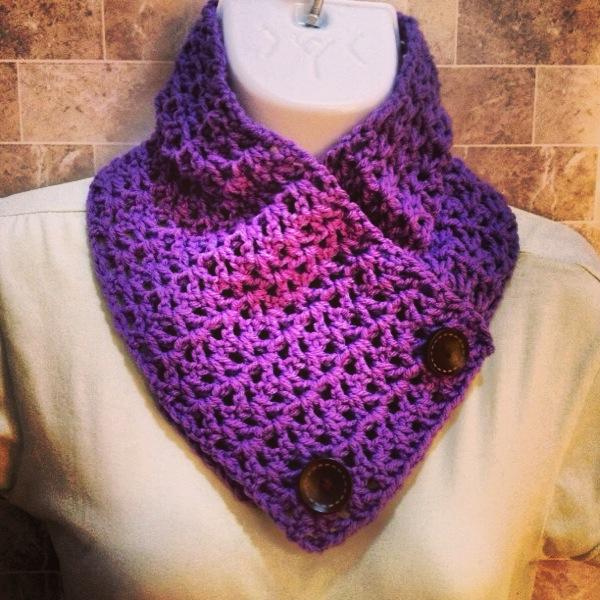 Cuellos y bufandas crochet - Imagui