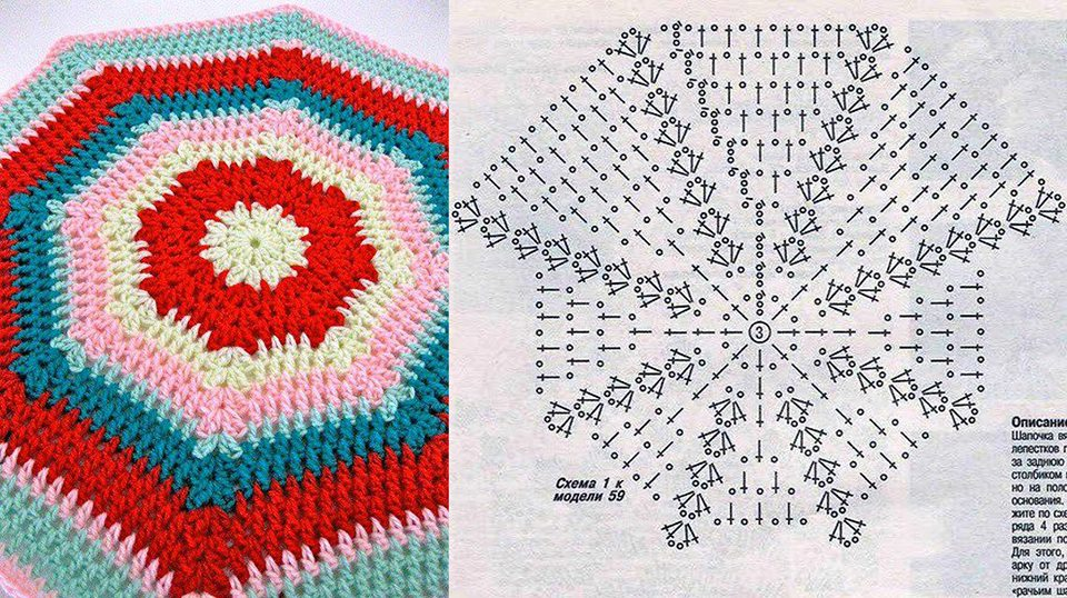crochet afghan | Hecho a Mano por Maricruz Pacheco Barrios