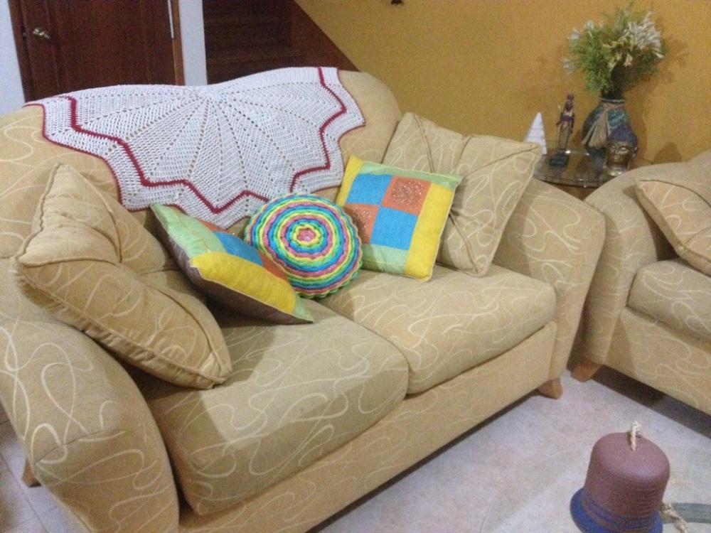 Una manta de picos para el sofá. Crochet (2/4)