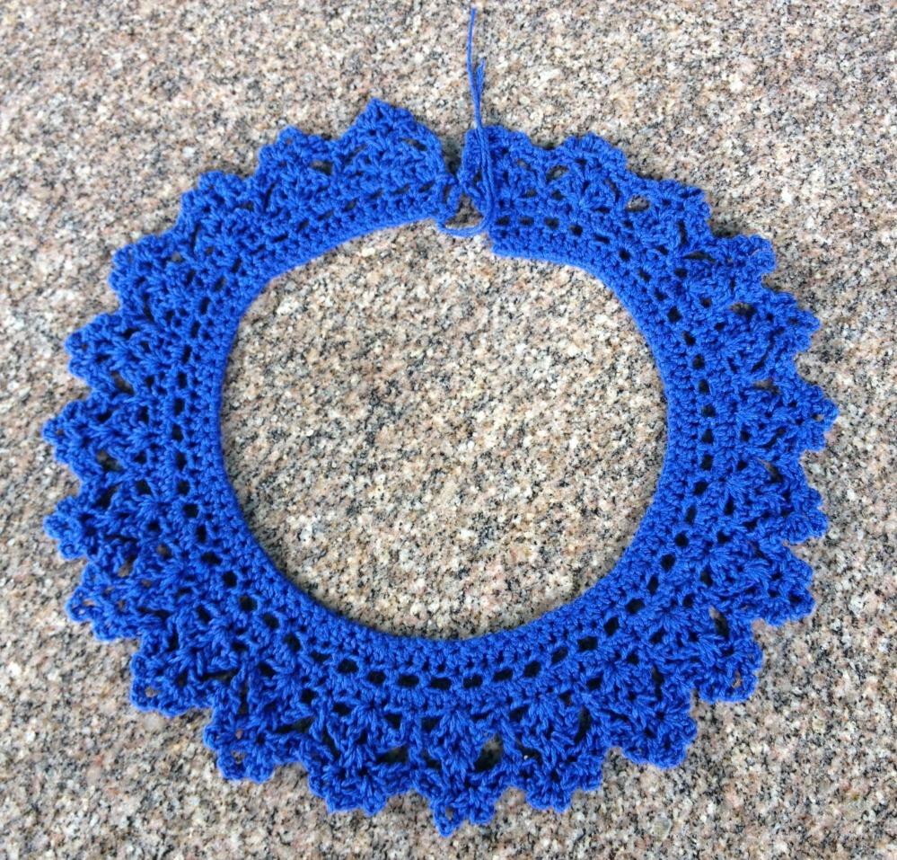 Cuellos a crochet - Peter Pan Crochet Collars  - Free Pattern - Patron Gratis (5/6)