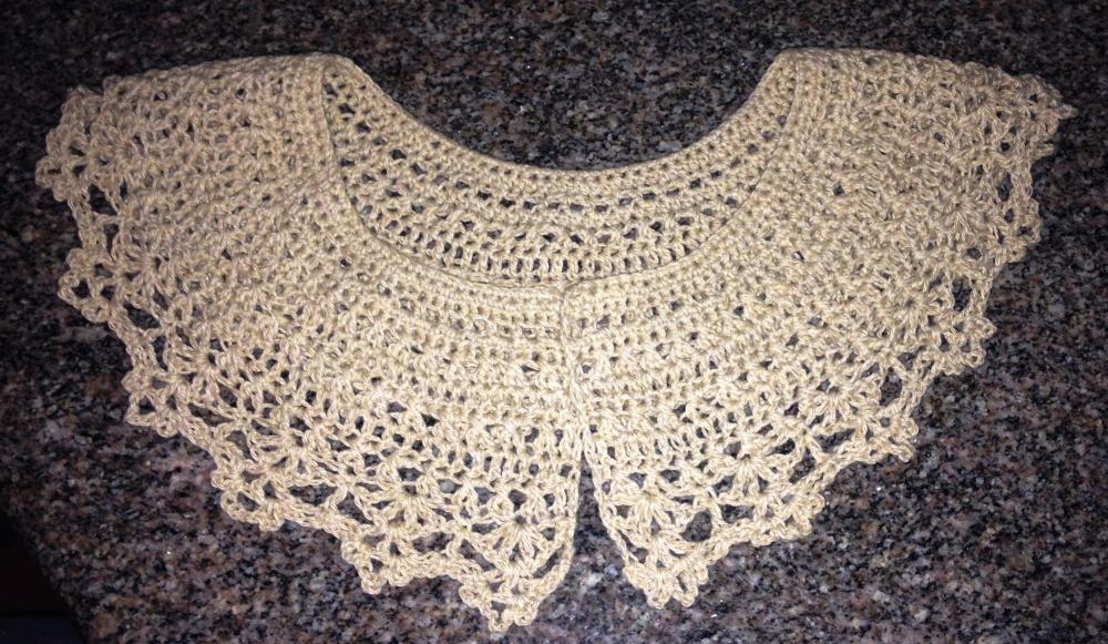 Cuellos a crochet - Peter Pan Crochet Collars  - Free Pattern - Patron Gratis (3/6)