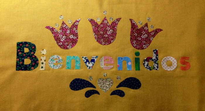 Bienvenidos patchwork