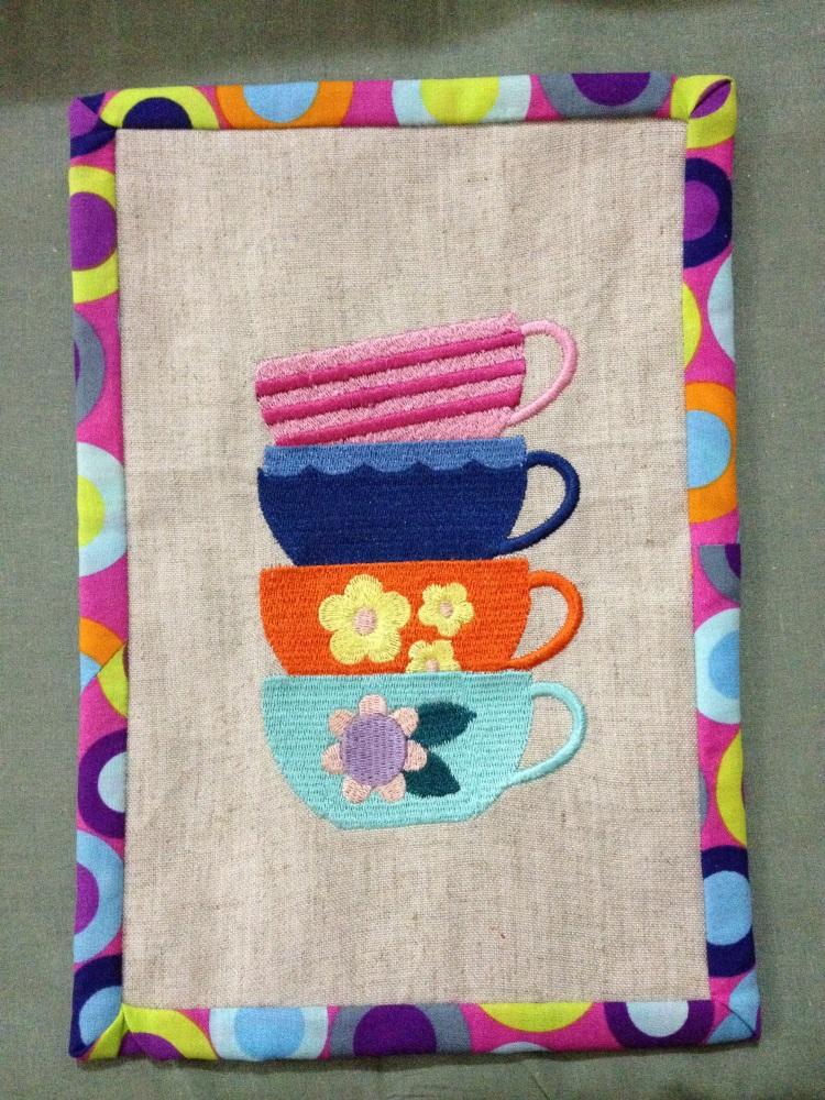 Mug Rug o ese lindo tapete para la taza de cafe (1/5)