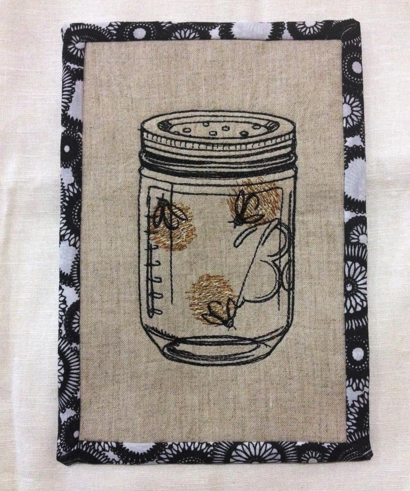 Mug Rug o ese lindo tapete para la taza de cafe (4/5)